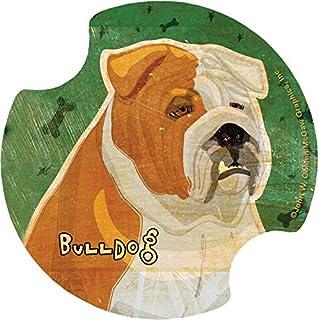 Thirstystone Bulldog Car Cup Holder Coaster, 2-Pack