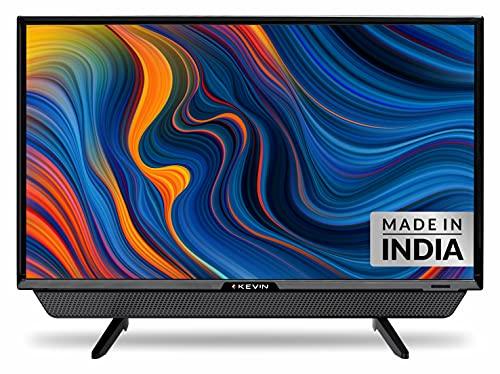 Kevin 60 cm (24 Inches) HD Ready LED TV KN24832 (Black)   With Inbuilt Soundbar (2021 Model)