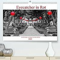 Eyecatcher in Rot (Premium, hochwertiger DIN A2 Wandkalender 2022, Kunstdruck in Hochglanz): Die Farbe Rot auf Weltreise. (Monatskalender, 14 Seiten )