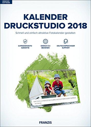 FRANZIS Kalender Druckstudio (2018) Software