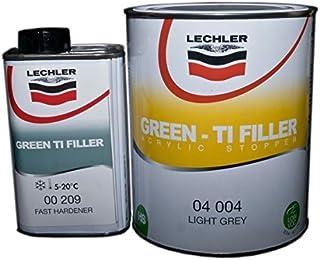 Lechler 2K Green TI Filler inkl. Härter 3,0 Ltr dunkelgrau