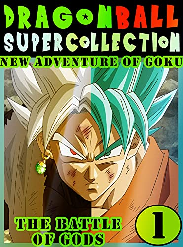 Dragonball-Super-Battle-Adventure: Collection Book 1 Dragon Adventure Great Super Ball Action Shonen Manga Graphic Novel For Adults, Teens, Children (English Edition)