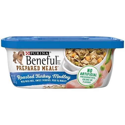 Purina Beneful Prepared Meals Adult Wet Dog Food - (8) 10 oz. Tubs 3