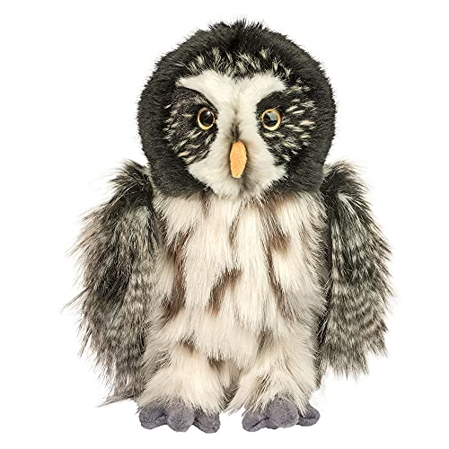 Douglas Darius Great Gray Owl Plush Stuffed Animal -  3843