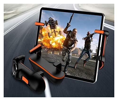 CMDZSW for contrôleur PUBG Ipad Trigger L1R1 Bouton Cible Manette de Jeu Manette de Jeu, for Ipad Tablet téléphone Portable FPS Accessoires de Jeux (Color : Orange)