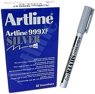 Artline 999XF Permanent Marker 0.8mm SILVER (BOX OF 12 PCS)