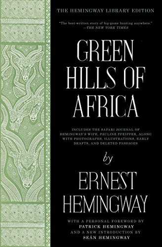 Amazon.com: Green Hills of Africa: The Hemingway Library Edition ...