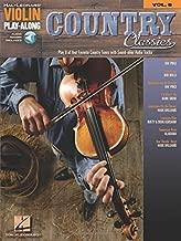 Country Classics: Violin Play-Along Volume 8 (Hal Leonard Violin Play-along)