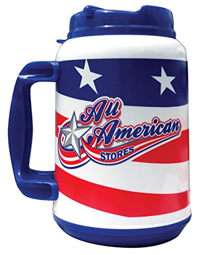 All-American Stores 44 oz Behemoth Foam Insulated Mug by Whirley