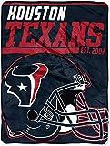 NFL Houston Texans '40-Yard Dash' Micro Raschel Throw Blanket, 46' x 60'