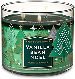 Bath and Body Works Vanilla Bean Noel 2018 Candle