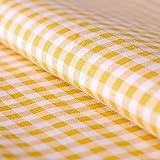 Hans-Textil-Shop Stoff Meterware Vichy Karo 5x5 mm