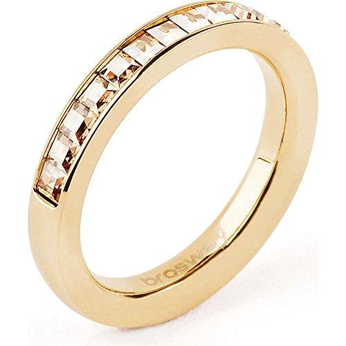 anello donna gioielli Brosway Tring misura 20 classico cod. BTGC57E