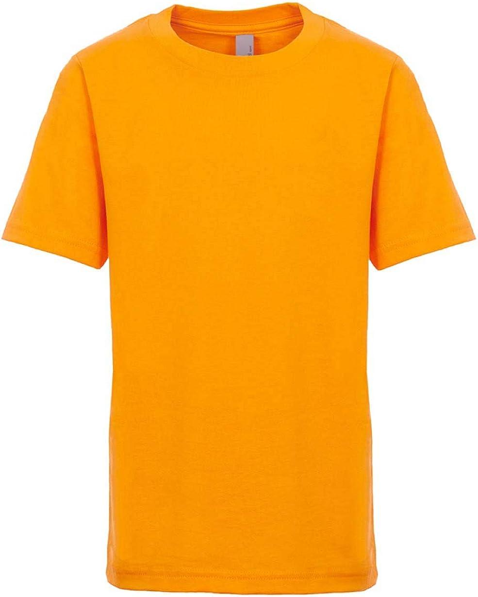 Next Level Kids Crew Neck T-Shirt Gold S
