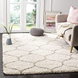 Soft Area Rugs:Our fluffy shag area rugs mady by super soft microfiber, comfortable soft to feel.Modern indoor plush fluffy bedroom rugs give you an elegant, comfortable, warm home. Multiple Sizes: Our carpets are available in various sizes and color...