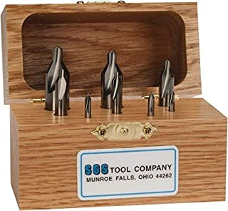 Right Hand Cutting Direction Number of Pieces Chicago-Latrobe High Speed Steel Drill//Countersink Set 5-56710