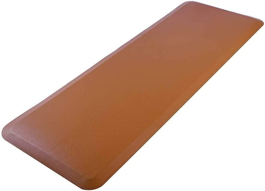 Indefinitely FRITHJILL Anti-Fatigue Kitchen Floor Mat Leather A Grain Comfort Safety and trust