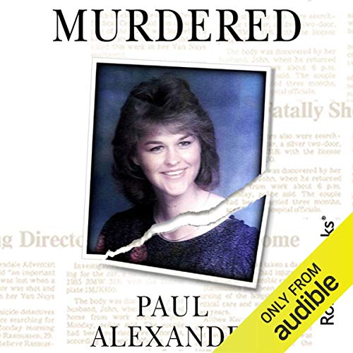 Murdered audiobook cover art