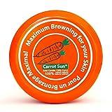 Carrot Sun Acelerador de bronceado con aceite de zanahoria, L-tirosina y henna para un bronceado dorado -FAST 350ml