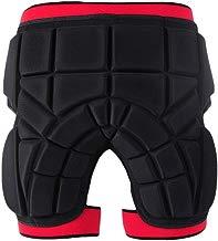 KAILUN Pantalones Cortos Protección Acolchados Protector De Almohadilla De Cadera Muslo Cóccix para Esquí Snowboard Patinaje Bici ATV Moto Balonmano Rugby Hockey Deportes Unisexo