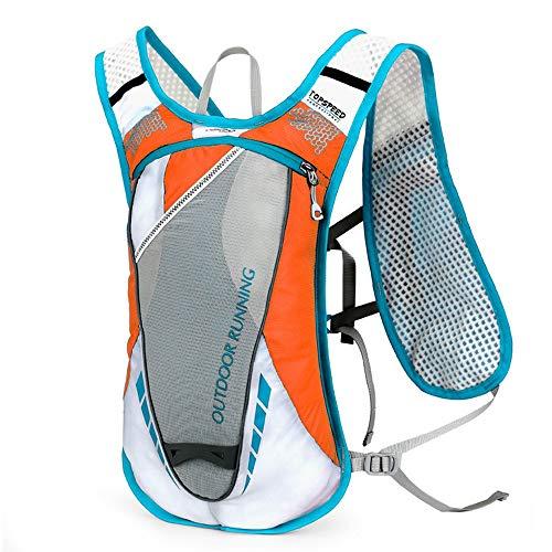 Sac à dos de cyclisme Le pack d'hydratation léger maintient la conception de rappel de sécurité fraîche pour la course, la randonnée, le cyclisme et le camping 5L pour Camping en plein air Randonnée C