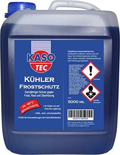 KasoTec Kühler-Frostschutz (gemäß G11) Gebrauchsfertig -40°C - 5 Liter