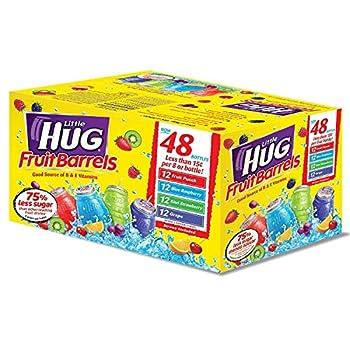 Little Hug Assorted Drinks  8 oz 48 ct