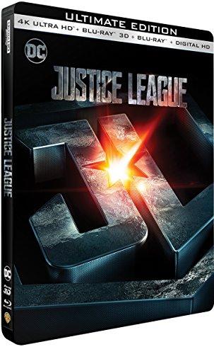 Justice league 4k ultra hd [Blu-ray] [FR Import]