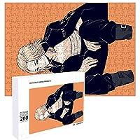 東京卍リベンジャーズ パズル 200ピース 25x35cm 佐野万次郎 人気 キャラクター とうきょうりべんじゃーず パズル 木製 グッズ ぱずる 知育 かたはめパズル 大人 キャストパズル 美しい包装箱