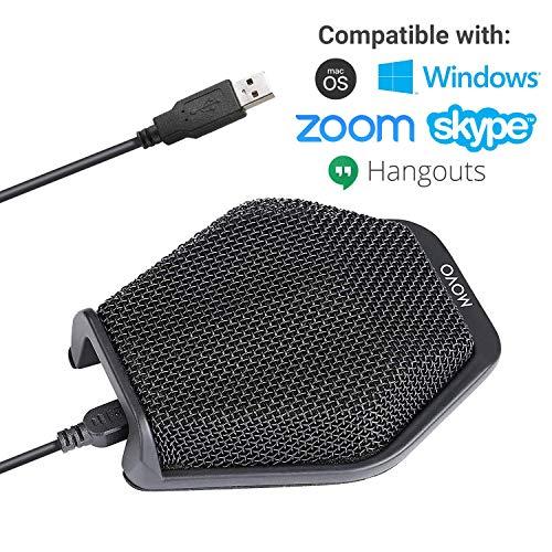 Movo MC1000 micrófono USB conferencias computadoras