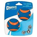 Chuckit! Ultra Squeaker - Pelota para Perro, Medium- 2 Pack