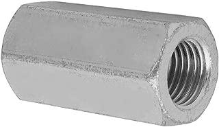1pc Carbon Steel Long Rod Hex Nut Zinc Plated Coupling Nut (M22×65×32)