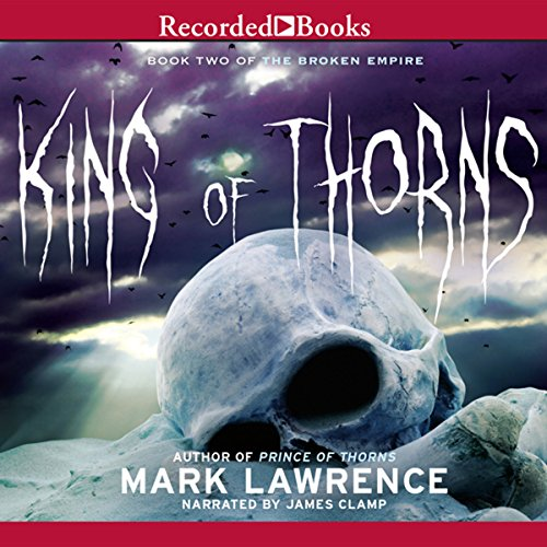 King of Thorns audiobook cover art