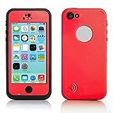 iPhone 5C Case, Waterproof Dirtproof Shockproof Durable Hard Cover Case For Apple iPhone 5C