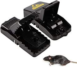 Reusable Mouse Trap, AUOKER Mice Trap Snap High Sensitive Mice Control Traps, Mouse Catcher Rodent Control Trap, Safer Than Glue & Poison, Suitable For Indoor Outdoor Eliminating Mouse