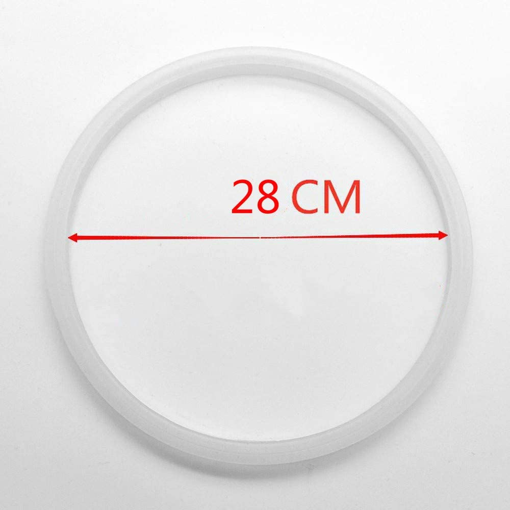 I.D=16cm A Silicone Pressure Cooker Sealing Ring Rubber Gasket universal silicone rubber ring A18 20 22 24 26 28 32CM N 1 pcs