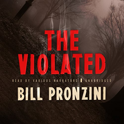 The Violated audiobook cover art