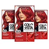 L'Oréal Paris Dauerhafte Haarfarbe, Gel-Coloration und Farb-Pflegemaske, Colovista Permanent Gel,...
