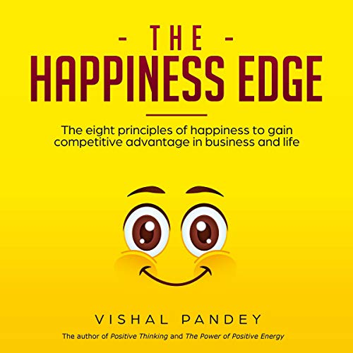The Happiness Edge audiobook cover art
