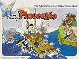 Disney Pinocchio – Film Poster Plakat Drucken Bild –