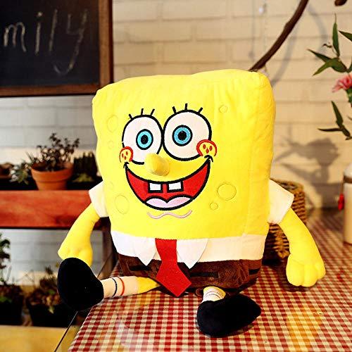 SpongeBob Pop Knuffel Taart Grote Ster Kussen Ragdoll Kinderen Vrouwelijk Geschenk-SpongeBob SquarePants_35cm