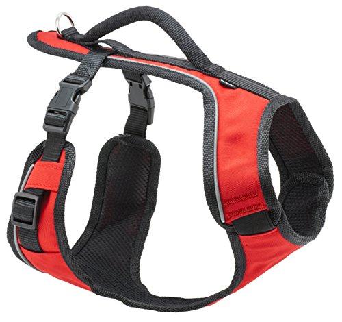 PetSafe Easy Sport Hundegeschirr S rot, extra, Reflektoren, Geschirrgriff, für kleine Hunde