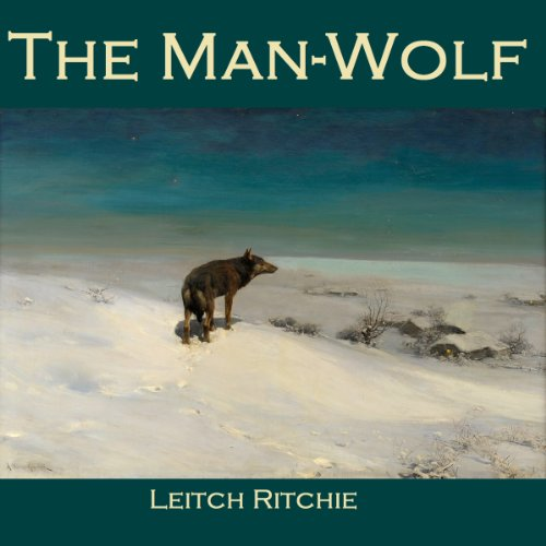 The Man-Wolf audiobook cover art