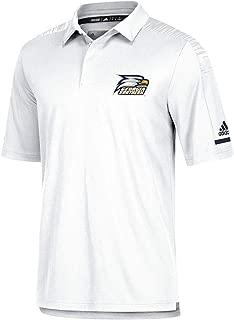 adidas Georgia Southern Eagles NCAA Men's 2018 Sideline White Team Iconic Coaches Polo Shirt