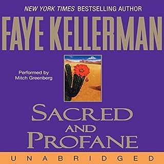 Sacred and Profane audiobook cover art