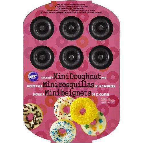 Wilton Mini Donut Baking Pan, 12-Cavity