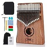 Kalimba Marimba - Pianoforte per pollice, pianoforte, pianoforte, pollice/dito con martello, borsa per pianoforte, istruzioni per studio, ottimo regalo per famiglie, bambini