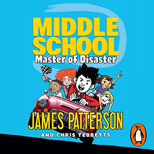 Middle School: Master of Disaster audiobook cover art