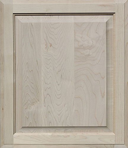 Unfinished Maple Cabinet Door, Square with Raised Panel by Kendor, 22H x 19W