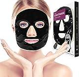 ICEHOF Kühlmaske mit Tonerde - Kühlende Maske für das Gesicht - Wohltuende Wellnessmaske -...